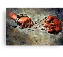 Never Break The Chain Canvas Print