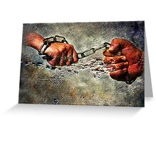 Never Break The Chain Greeting Card
