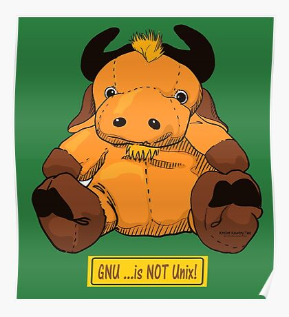 GNU...is NOT the same as UNIX! Poster