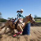 Barrel Racing by Liza Yorkston