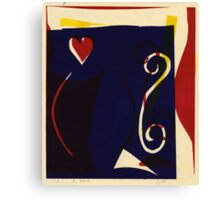 Twisted Love, 2002 Canvas Print