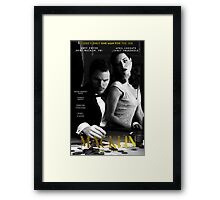 """Macklin"" poster 1 Framed Print"
