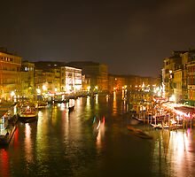 Four Seconds in Venice - view from the Ponte di Rialto by Michael Irrera