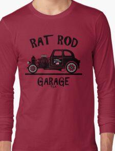 RAT ROD GARAGE...Product of the U.S.A.! Long Sleeve T-Shirt