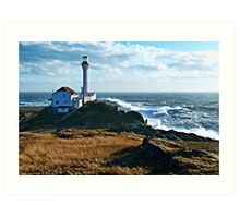 A Gusty Day at the Cape Art Print