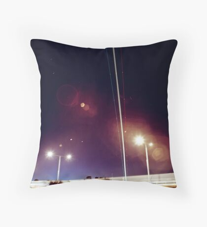 Plane trials Throw Pillow