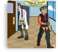 Danville High Canvas Print