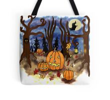 Witchy Halloween Tote Bag
