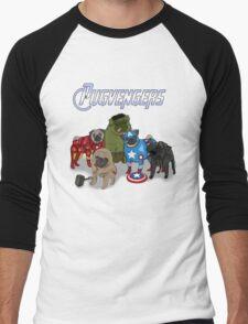 The Pugvengers Men's Baseball ¾ T-Shirt