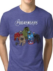 The Pugvengers Tri-blend T-Shirt