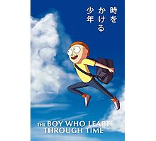 The boy who leapt through time Photographic Print