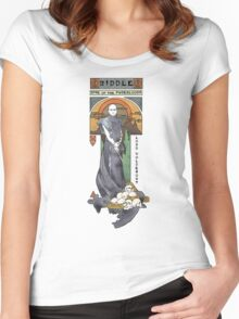 Rise of the Purebloods Shirt Women's Fitted Scoop T-Shirt
