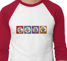 Tiny Mutant Ninja Turtles Men's Baseball ¾ T-Shirt