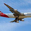 Qantas - Spirit of Australia by Cecily McCarthy