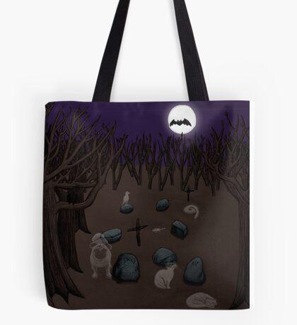 Pet Cemetery Tote Bag