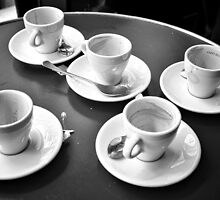 Five cups. by Victor Pugatschew
