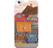 cafe froot semaphore iPhone Case/Skin