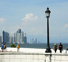 Skyscrapers, Panama City by Maggie Hegarty