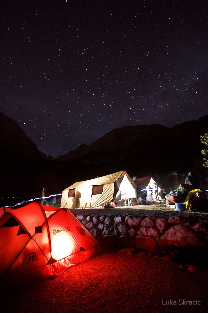 Night on Inca Trail by Luka Skracic