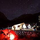 Night on Inca Trail by Luka Skracic