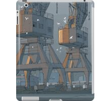 port adelaide cranes iPad Case/Skin