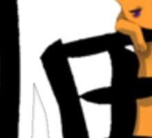 Kyo Sohma- Cat Kanji Sticker