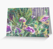 Flowers (pastel) Greeting Card