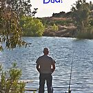 Sunset Fisherman-Father's Day  by heatherfriedman