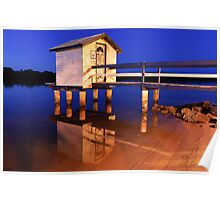 Maroochy Boat Shed Poster