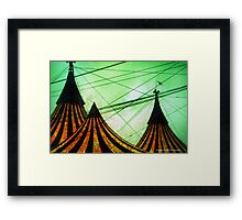 Circus Big Top Framed Print