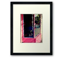 P-arf At 90 Degrees! Framed Print