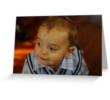 Happy Birthday Isaac Greeting Card