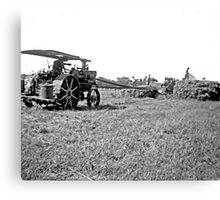 """""""Old Farm Equipment"""" Canvas Print"""