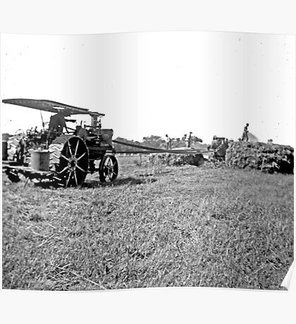 """""""Old Farm Equipment"""" Poster"""