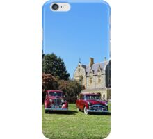 Packards in a Row - Abercrombie House iPhone Case/Skin
