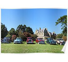 Packards in a Row - Abercrombie House Poster