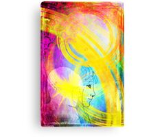 The Positive Impact of Traveling Light Canvas Print