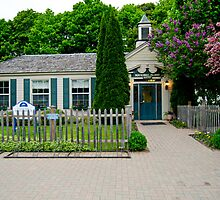 Mackinac Island Post Office by Tim Ray