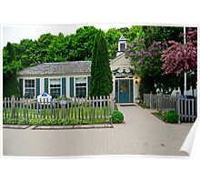 Mackinac Island Post Office Poster
