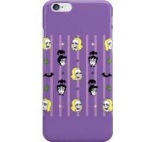 Beetlejuice Pattern - Stripes iPhone Case/Skin