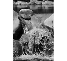 Small Scale Waterfall Photographic Print