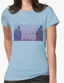 Medieval Social Platform  Womens Fitted T-Shirt
