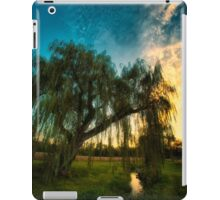 Weeping Willow Tree Sunset iPad Case/Skin