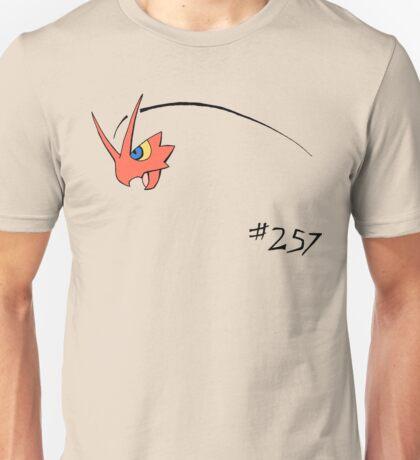 Pokemon 257 Blaziken Unisex T-Shirt