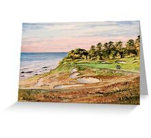 Whistling Straits Golf Course Greeting Card