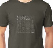 """STS9 """"TRIBE"""" (WHITE LINES) Unisex T-Shirt"""