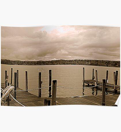 Overlook Docks Poster