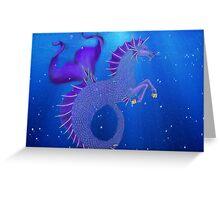 Waterhorse Greeting Card