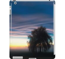 Weeping Willow in the Mist iPad Case/Skin