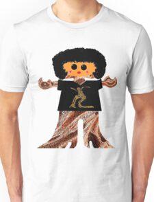 Country Line Dancer Rag Doll Unisex T-Shirt